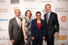 Richard B. Jones, Jessie Kornberg, Rep. Karen Bass and Mike Feuer