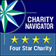 Recognized as a Four Star Charity by Charity Navigator