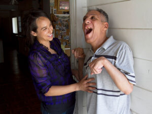 Caregivers and Conservators - Photo of a caregiver with a disabled man