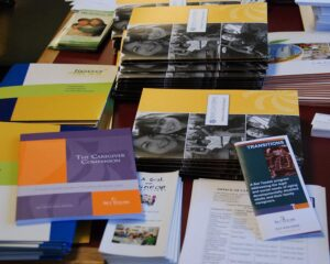 Bet Tzedek Resources - Photo of resource brochures made available by Bet Tzedek