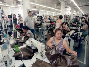Workers Rights - Low-wage garment workers at an L.A. factory